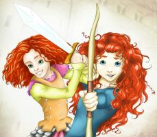 Jane an Merida by RiverCreek