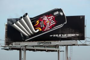 Full Throttle Billboard by cantudesigns