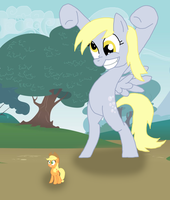The Derpy Scare by Final7Darkness