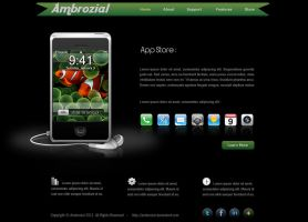 IPhone App Store by Ambrozial
