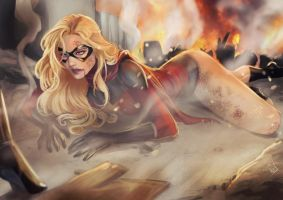 Ms. Marvel - Why are you doing this? by Forty-Fathoms