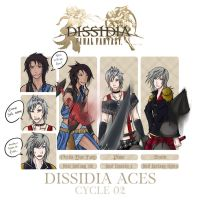 Dissidia Aces cycle 02 - preliminary round entry by RedKid11