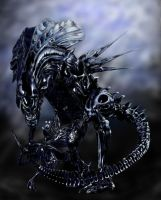 ALIENS: Queen Xenomorph by crophecy