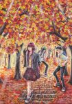 Autumn Love by littlemangademon