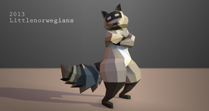 Low Poly Experiment by Littlenorwegians