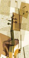 Cubist Violin by LoveliDesigns
