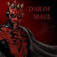 Darth Maul by Patryks00