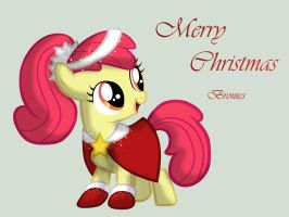 Apple Bloom Christmas Dress by miesmauz