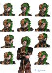 Shion skit expressions by Sanae94