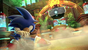 Sonic Colors Cutscene Shot by lozfoe444