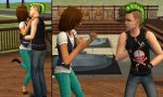 Courtney and Duncan sims 2 by jjjoeyy