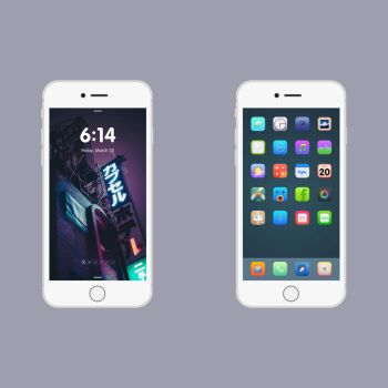 6+ Vue iOS 8 by kane4lsu