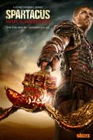 Spartacus War of the Damned Poster by ManiaGraphic