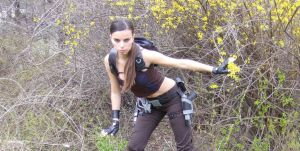 Tomb Raider Underworld Jungle Pants by DayanaCroft