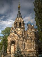 Russian Church by kdiff3