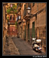 Alleyway by Leeby