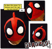 For Sale: Deadpool Hat by tricneu