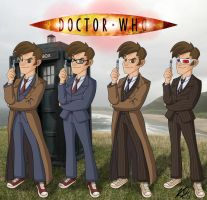 Doctor Who - 10th Regeneration by kelvin8
