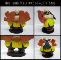 Hariyama Sculpture by caffwin