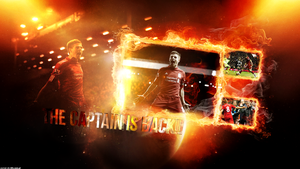 Steven Gerrard - The Captain is back by szymeks