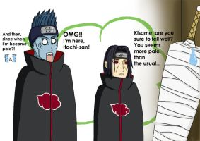 Recent Itachi's sight problem by taiyoo
