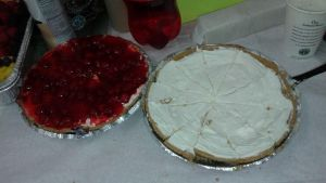 Two sweet cheesecakes by mylesterlucky7