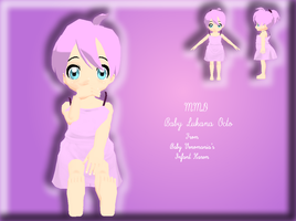 MMD Newcomer - Baby Lukana Octo by Bokeol