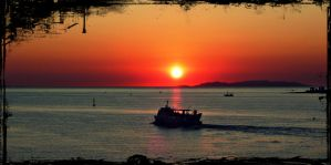 Sunset in Paros by cruelty522