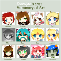 2011 Art Summary by Bunnyloz