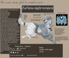 elite zar'kina ref by true-crystalwolf