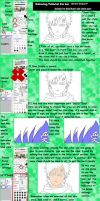 Semi Copic Coloring Tutorial For Sai by silver7gin