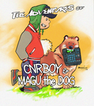 CNRBOYxMAGU Cover art by Lightning-Powered