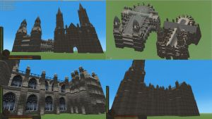 Blender Churches untextured by Tomoffell
