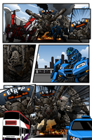 SG transformers comic layout by NCH85