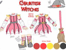 CourtesyWitches Costume Design by Magical-Mama