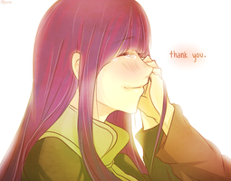NaruHina: ''Thank You..'' by Misoroll