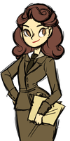 agent carter by mintycanoodles