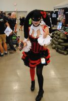 Niagara Falls Comicon 2015 - Burlesque Harley by TheWarRises