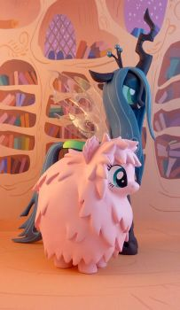 Fluffle Puff by krowzivitch