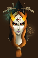 Twili Midna by Meeshell-Art