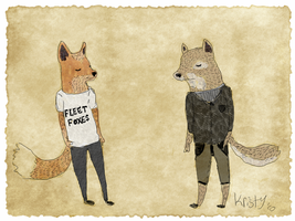 Fleet Foxes by cheetahwings