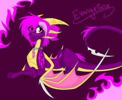 Evangeline The Dragoness by Luciiid
