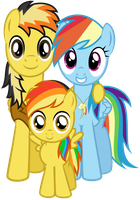 .:Comm:. Electuroo-Dash Family Photo by Lost-Our-Dreams