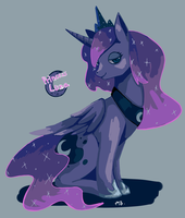 mlp_Princess Luna by Nanghyang