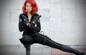 Black Widow by Karenscarlet