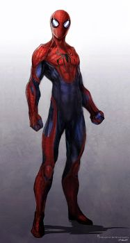Amazing Spiderman design by JSMarantz
