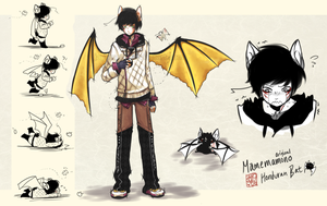 [CLOSED] Mamemamono Adopt ver. Bat by mayoujii