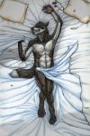 Guilty pleasures: Bedsheets by Wandering-wolves