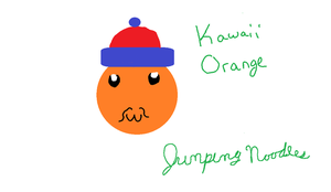 Kawaii Orange by jumpingnoodles