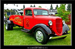 Automobile Club Tow Truck by mahu54